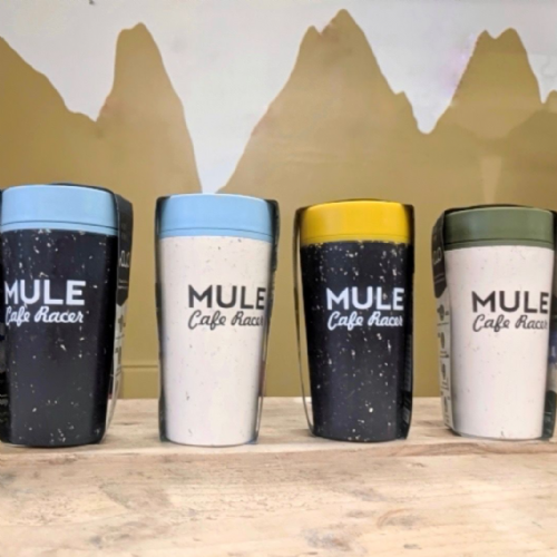 Mule Cafe Racer eco coffee cup